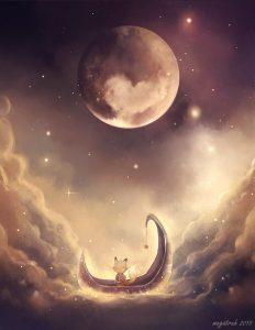 fiaba buonanotte luna