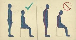 postura corretta leggere ad alta voce