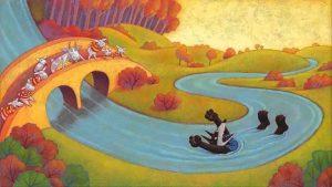 lupo e i 7 capretti, fiaba per bambini