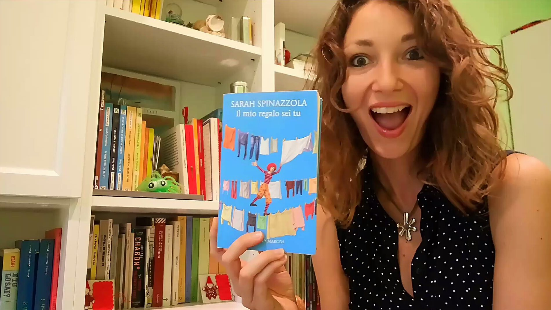 Sarah Spinazzola, Il mio regalo sei tu romanzo, Marcos y Marcos